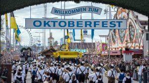 Oktoberfest Willkommen
